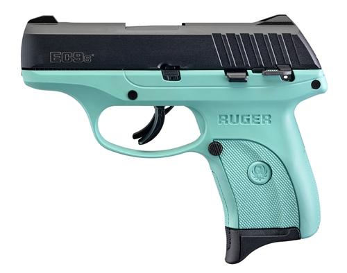 Ruger EC9s Blued Turquoise 9mm