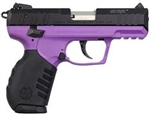 "Ruger SR22 Purple Grip Grame Black Slide 3.5"" Barrel 10+1 .22LR 3606"