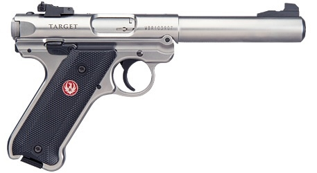 champion firearms ruger mark iv target stainless 5 5 22lr 40103
