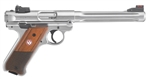 "Ruger Mark IV Hunter Stainless 6.88"" 22LR 40118"