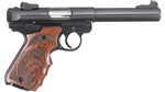 "Ruger Mark IV Target Blued Wood Grips 5.5"" 22LR 40159"