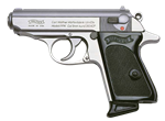 Walther PPK Stainless Steel 6+1 .380ACP 4796001