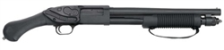 "Mossberg 590  Shockwave 14"" Barrel 6- Shot Parkerized 12-Gauge Crimson Trace Laser 50638"
