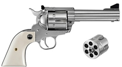 "Ruger Blackhawk Convertible 4.6"" Stainless .45LC/.45ACP 5243"