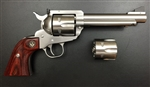 "Ruger Blackhawk Flat Top Convertible 357MAG/38SPL/9mm Stainless 5.5"" 5247"