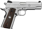 "Ruger SR1911 Commander Stainless 4.25"" Barrel .45ACP 06702"