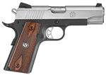 "Ruger SR1911 Lightweight Commander 4.25"" Barrel .45ACP 6711"