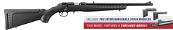 "Ruger American Rimfire Threaded 18"" Barrel 9RD MAG .17HMR 8312"