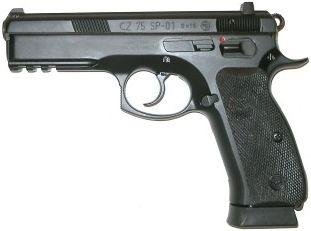 CZ-USA SP-01 (w/ Manual Safety) 9mm