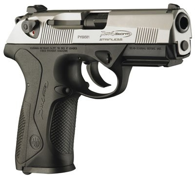 Champion Firearms | Beretta PX4 Storm: Stainless Slide Full Size 9mm