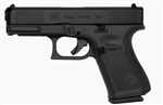 Glock 19 GEN5: Mid- Size 9mm (15- Round Magazines) PA195S303AB Front Serrations No Cut Out Ameriglo Night Sights