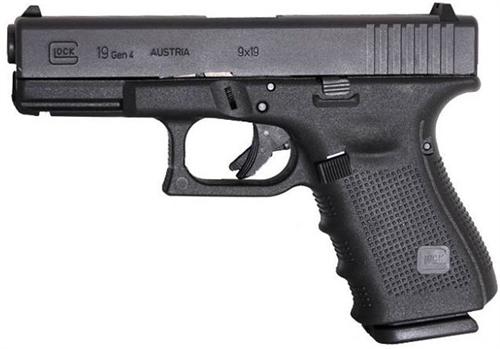 Champion Firearms | Glock 19 GEN4: Mid- Size 9mm (15- Round Magazines)