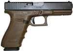 Glock 21 GEN4 Dark Earth Finish 13+1 Capacity .45ACP PG2150203D