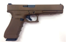 Glock 35 GEN4: Full Flat Dark Earth .40S/W (15- Rd Mags) PG3530104D
