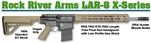 "Rock River LAR-8 ""X-1"" Tan Rifle in .308/7.62x51 X308A1751T"