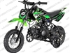 "Apollo DB-21 | CA Legal | 10"" Wheels, Removable Training Wheels, Semi-Auto, Kick Start Dirt Bike"