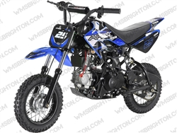 "Apollo DB-25 | 10"" Wheels, Removable Training Wheels, Full Auto, Electric Start Dirt Bike"