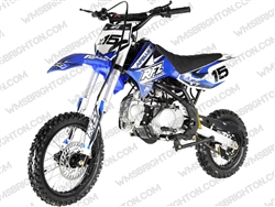"Apollo DB-X15 | 14""/12"" Wheels, Full Manual, Kick Start Dirt Bike"