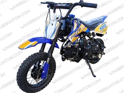 "Coolster 213A | 10"" Wheels, CA Legal Full Auto, Electric Start Dirt Bike"
