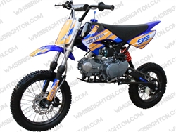 "Coolster 214 | CA Legal | 12""/14"" Wheels, Full Manual, Kick Start Dirt Bike"