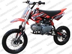 "Coolster 214S | 12""/14"" Wheels, CA Legal, Semi-Auto, Kick Start Dirt Bike"