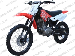 "Coolster 216 | 19""/16"" Wheels, Full Manual, Kick Start Dirt Bike"