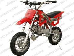 "Coolster QG-50 | 12.5"" Wheels, CA Legal, Full Auto, Pull Start Mini Dirt Bike"