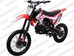 "Coolster M-125 | 14""/17"" Wheels, CA Legal, Full Manual, Kick Start Dirt Bike"