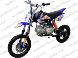 "Coolster XR-125 | 12""/14"" Wheels, CA Legal Semi-Auto, Kick Start Dirt Bike"