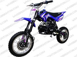 "Coolster XR-125A | 12""/14"" Wheels, CA Legal Semi-Auto, Kick Start Dirt Bike"