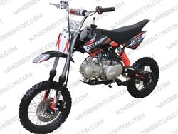 "Coolster XR-125M | 12""/14"" Wheels, CA Legal, Full Manual, Kick Start Dirt Bike"