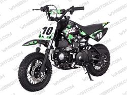 "TaoTao/Tao Motor DB10 | CA Legal | 10"" Wheels, Full Auto, Electric Start Dirt Bike"