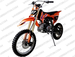 "TaoTao/Tao Motor DB27 | CA Legal | 17""/14"" Wheels, Full Manual, Kick Start Dirt Bike"