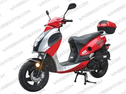 "TaoTao/Tao Motor Powermax 150 | 12"" Aluminum Wheels, Street Legal Scooter"