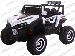 XLJ588 | 12V Kids Battery Operated Ride-On UTV w/ Remote Control, LED Lights, MP3 Player & Aux