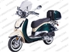 ZNEN ZN50QT-G | CA Legal | 99% Assembled, Windshield, Whitewall Tires, Backrest, USB Port, Remote Start & Alarm, ABS