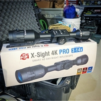 ATN X-Sight 4K Pro 3-14x Day/Night Scope w/ IR Illuminator