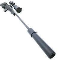 Black Aces Tactical Pro Series 30 PoBoy Suppressor
