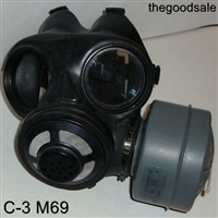 Canadian C 3 M69 Gas Masks & Canister
