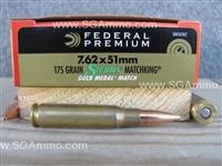 Federal Ammunition 7.62x51 Match 175gr