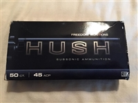 Freedom Munitions Hush 45 Auto 230gr