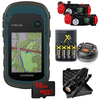 Garmin eTrex 22X 16GB Bundle