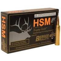 HSM 6mm Remington 95gr