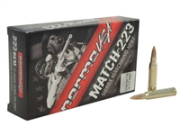 Norma USA Match Ammunition 223 Remington 77 Grain