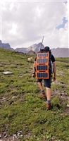 Off Grid Trek 28 Watt Solar Panel (Orange)
