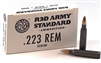 Red Army Standard .223 Steel Case 55gr FMJ (Box of 20)