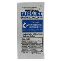 Water-Jel Unit Dose Burn Gel w/ Lidocaine 5-pk