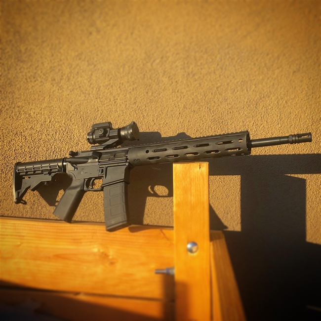 Ruger AR556 w/ DigiTrigger and Strikefire ii Optic