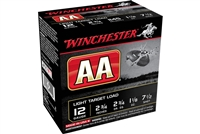 "Winchester AA Super Sport Sporting Clays Ammunition 12 Gauge 2-3/4"" 7.5"