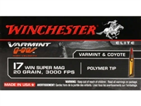 Winchester 17 Winchester Super Mag 20 gr